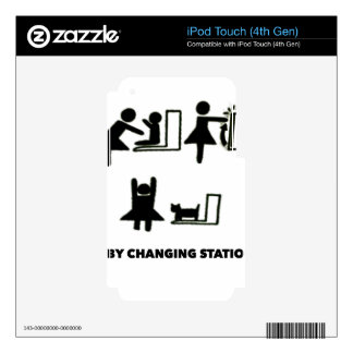 Baby Changing Station Skins For iPod Touch 4G