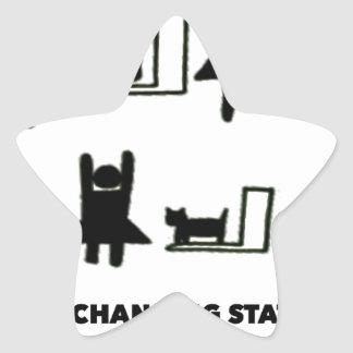 Baby Changing Station Star Sticker