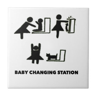 Baby Changing Station Tile
