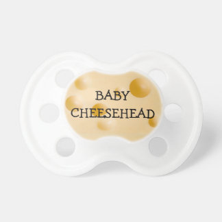 Baby Cheesehead Wisconsin Humor Pacifier
