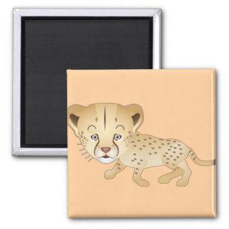 Baby Cheetah Magnet