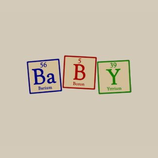 Baby -   Chemistry Geek Infant Organic Onesie shirt