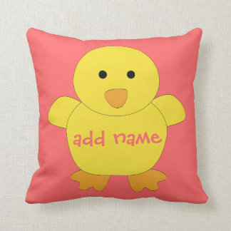 Baby Chick American MoJo Pillow