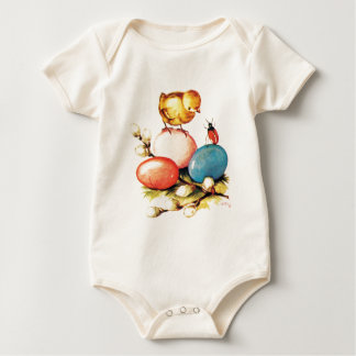 Baby Chick and Beetle Bodysuit
