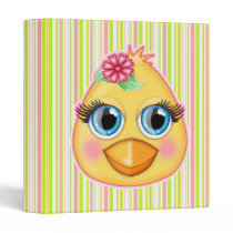 Baby Chick Easter Binder