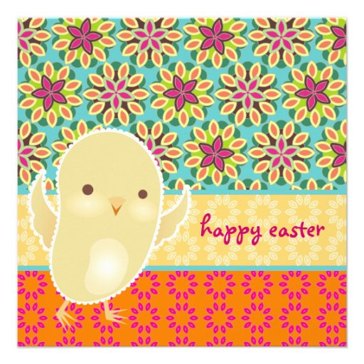 Baby Chick Easter Invitation