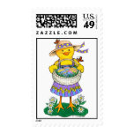 Baby Chick Easter Postage Stamp