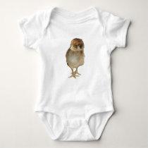 baby chick - Gallus gallus domesticus Baby Bodysuit