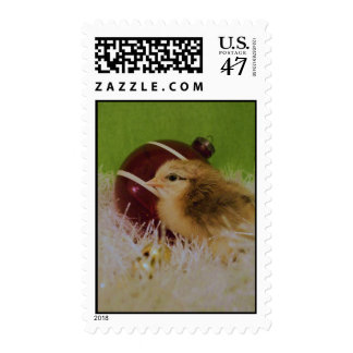Baby chick Holiday postage
