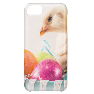 Baby Chick in Easter Basket iPhone 5C Covers