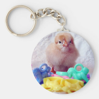Baby Chick Keychain