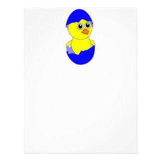 Baby Chick Maternity Baby Boy Blue Letterhead