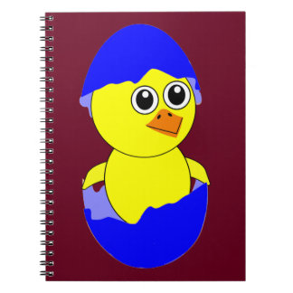 Baby Chick Maternity Baby Boy Blue Notebook