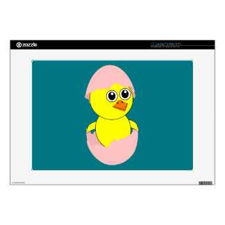 """Baby Chick Maternity Girl Pink Skin For 15"""" Laptop"""