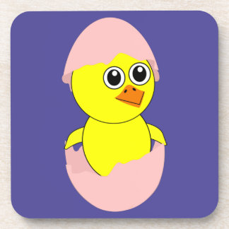 Baby Chick Maternity Pink For Girls Coaster