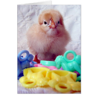 Baby Chick, Perfect For Baby Shower Card