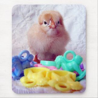 Baby Chick, Perfect For Baby Shower Mouse Pad