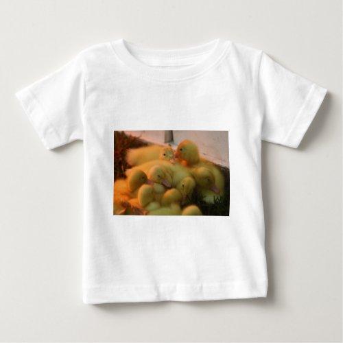 Baby Chick Pile Baby T-Shirt