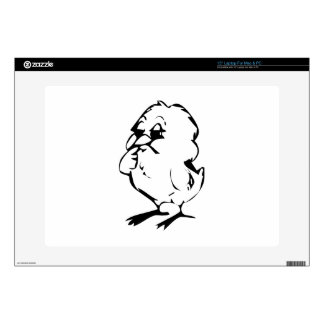 """Baby Chick 15"""" Laptop Skins"""