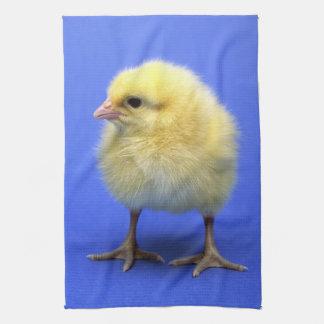 Baby chicken. hand towel