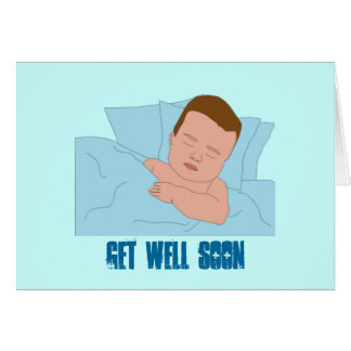 Baby/Child Get Well Soon Greeting Card