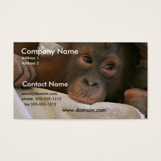 Baby Chimp Business Card