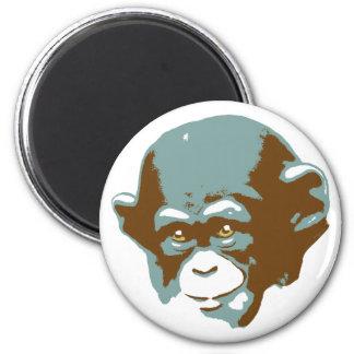 Baby Chimp Head Magnet