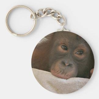 Baby Chimp Keychain