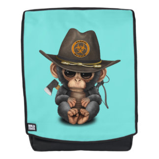 Baby Chimp Zombie Hunter Backpack