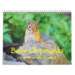 Baby Chipmunks 2014/2015 (16 month calendar)
