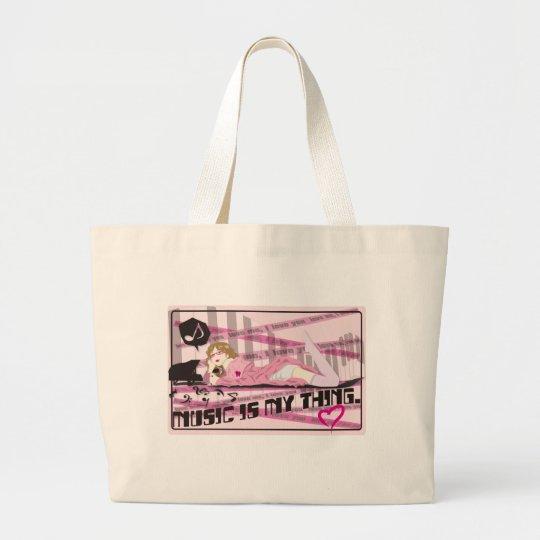 Baby_Chou Large Tote Bag