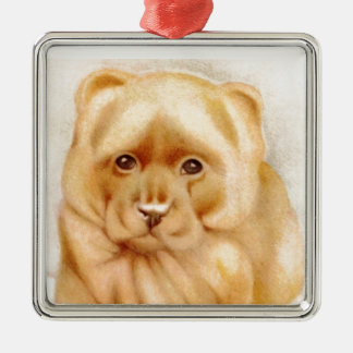 Baby Chow-Chow - SUPER CUTE ! Metal Ornament