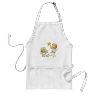 Baby Christmas Angels Adult Apron