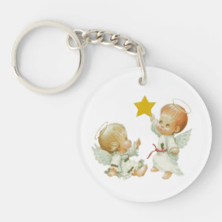 Baby Christmas Angels Key Chains