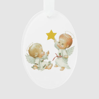 Baby Christmas Angels Ornament