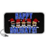 Baby Christmas Carolers - Happy Holidays Mp3 Speaker