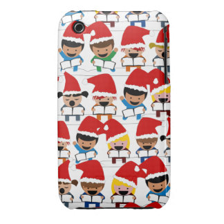 Baby Christmas Choir iPhone 3 Case-Mate Case