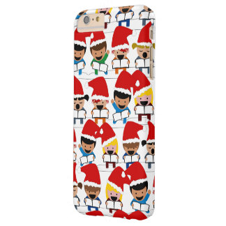 Baby Christmas Choir Barely There iPhone 6 Plus Case