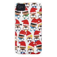 Baby Christmas Choir Case-Mate iPhone 4 Cases