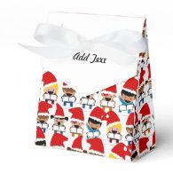 Baby Christmas Choir Favor Box