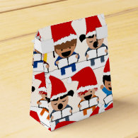 Baby Christmas Choir Party Favor Boxes