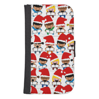 Baby Christmas Choir Galaxy S4 Wallet Cases