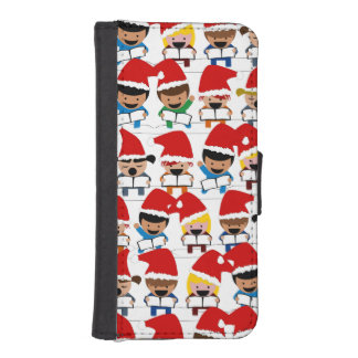 Baby Christmas Choir iPhone 5 Wallets