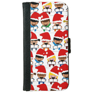 Baby Christmas Choir iPhone 6 Wallet Case