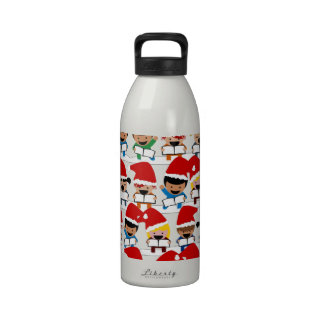 Baby Christmas Choir Water Bottle