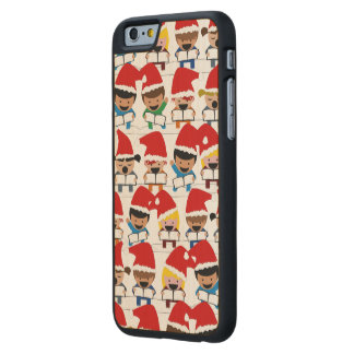 Baby Christmas Choir Carved® Maple iPhone 6 Slim Case