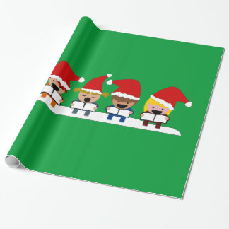 Baby Christmas Choir Wrapping Paper