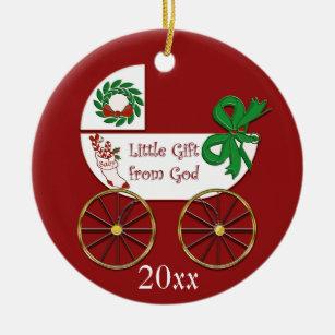 Baby On The Way Ornaments & Keepsake Ornaments | Zazzle