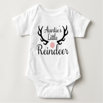 Baby Christmas Outfit from the Aunt Baby Bodysuit