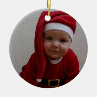 Baby Christmas Santa Christmas Tree Ornaments